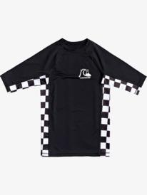 Check This - Short Sleeve UPF 50 Rash Vest for Boys 8-16  EQBWR03167