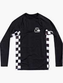 Check This - Long Sleeve UPF 50 Rash Vest for Boys 8-16  EQBWR03170