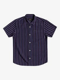 Oxford Lines - Short Sleeve Shirt for Boys 8-16  EQBWT03297