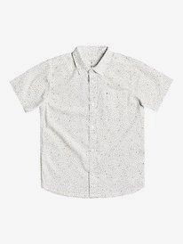 Spilled Rice - Short Sleeve Flannel Shirt for Boys 8-16  EQBWT03301