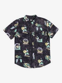 Island Pulse - Short Sleeve Shirt for Boys 8-16  EQBWT03313