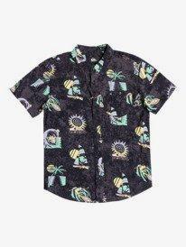 Island Pulse - Short Sleeve Shirt for Boys 8-16  EQBWT03313