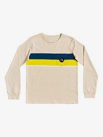 Multiply Stripe - Long Sleeve T-Shirt for Boys 8-16  EQBZT04050