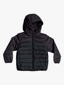Scaly Mix - Hooded Puffer Jacket for Boys 2-7  EQKJK03103