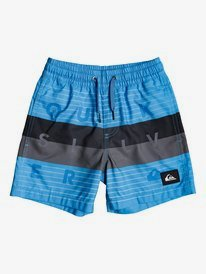 "Word Block 12"" - Swim Shorts  EQKJV03106"