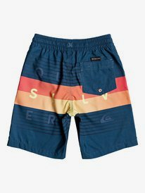 """Word Block 14"""" - Swim Shorts for Boys 2-7  EQKJV03107"""