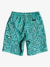 "Tropical Brush 14"" - Swim Shorts for Boys 2-7  EQKJV03119"