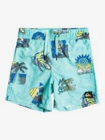 "Island Pulse 12"" - Swim Shorts for Boys 2-7  EQKJV03164"