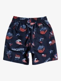 "4th Of July 13"" - Recycled Swim Shorts for Boys 2-7  EQKJV03175"