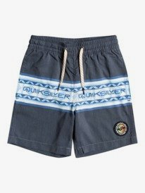 "Sun Faded 13"" - Recycled Swim Shorts for Boys 2-7  EQKJV03178"