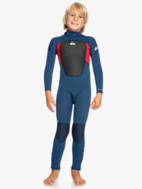 4/3mm Prologue - Back Zip Wetsuit for Boys 2-7  EQKW103009