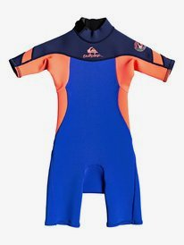 2/2mm Syncro - Back Zip Short Sleeve Springsuit for Boys 2-7  EQKW503001