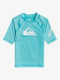 All Time - Short Sleeve UPF 50 Rash Vest for Boys 2-7  EQKWR03088