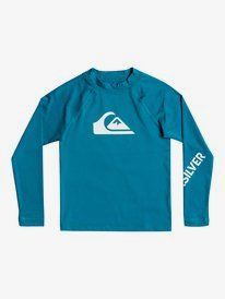 All Time - Long Sleeve UPF 50 Rash Vest for Boys 2-7  EQKWR03089