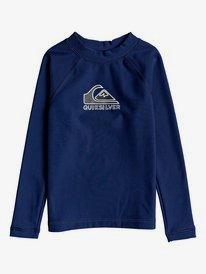 Heater - Long Sleeve UPF 50 Rash Vest for Boys 2-7  EQKWR03091