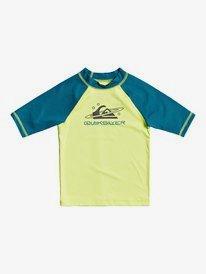 Tropical Bubble Boy - Short Sleeve UPF 50 Rash Vest for Boys 2-7  EQKWR03095