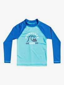 Tropical Bubble Boy - Long Sleeve UPF 50 Rash Vest for Boys 2-7  EQKWR03096