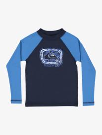 Bubble Trouble - Long Sleeve UPF Rash Vest for Boys 2-7  EQKWR03099