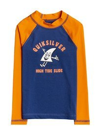 Bubble Trouble - Long Sleeve UPF Rash Vest for Boys 2-7  EQKWR03099