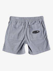"Baia Duke 10.5"" - Elasticated Corduroy Shorts  EQKWS03190"