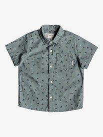 Mini Motif - Short Sleeve Shirt for Boys 2-7  EQKWT03152