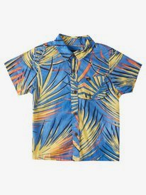 Sub Tropic - Short Sleeve Shirt for Boys 2-7  EQKWT03192