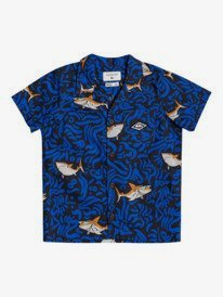 Sharky Troubles - Short Sleeve Shirt for Boys 2-7  EQKWT03198