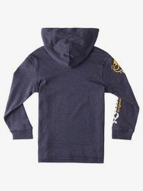 Check Yo Self - Long Sleeve Hooded T-Shirt for Boys 2-7  EQKZT03417