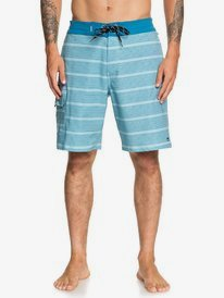 "Waterman Angler Stripe 20"" - Beachshorts for Men  EQMBS03068"