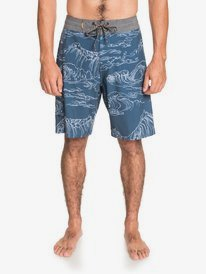 "Angler Print 20"" - Beachshorts for Men  EQMBS03079"