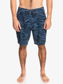 "Waterman Paddler Print 19"" - Board Shorts for Men  EQMBS03087"