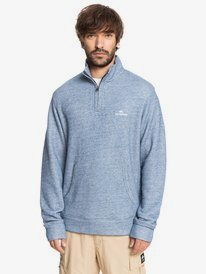 Ocean Nights - Half-Zip Mock Neck Fleece for Men  EQMFT03066