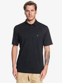 Casy Teey Blank Check Mens Polo Shirts Black S