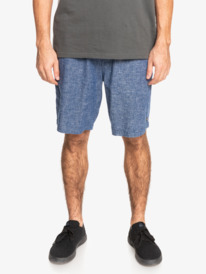 "Waterman Short Tour 20"" - Elasticated Shorts for Men  EQMWS03133"