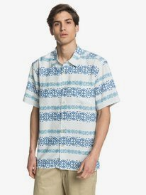 Waterman Tapa Mood - Short Sleeve Shirt for Men  EQMWT03293