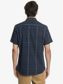 Waterman Ocean Check - Technical Short Sleeve Shirt  EQMWT03299