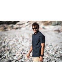 Waterman Water Ripples - UPF 30 Short Sleeve Shirt for Men  EQMWT03309