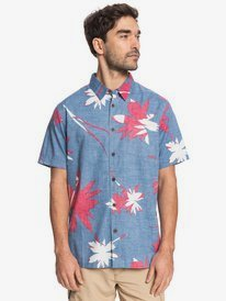 Waterman Na Mea Kahiki - Short Sleeve Shirt for Men  EQMWT03406