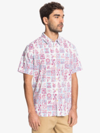 Waterman Doho Days - Short Sleeve Shirt for Men  EQMWT03407