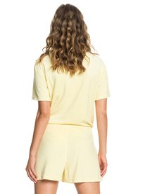 Quiksilver Womens - Short Sleeve Half-Zip Collared Playsuit  EQWFT03014