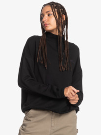 Bobbing Around - Organic Mock Neck Sweatshirt for Women  EQWFT03035