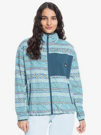 Quiksilver Womens - Zip-Up Polar Fleece for Women  EQWFT03049