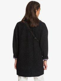 Quiksilver Womens - Oversized Longline Wool Blend Coat for Women  EQWJK03015