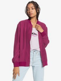 Time Lay Bomber - Bomber Jacket for Women  EQWJK03023