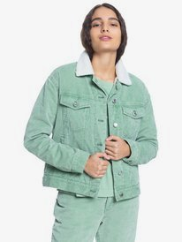 Quiksilver Womens - Corduroy Jacket for Women  EQWJK03030