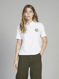 Quiksilver Womens - Short Sleeve Polo Shirt  EQWKT03025