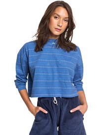Originals Heritage - Cropped Long Sleeve T-Shirt for Women  EQWKT03081