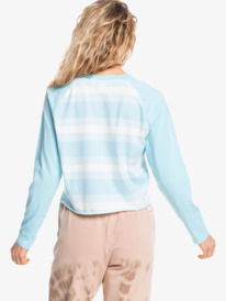 Iconic Horizon - Cropped Long Sleeve T-Shirt for Women  EQWKT03132