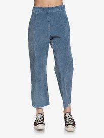 Quiksilver Womens - High Waist Flared Corduroy Trousers  EQWNP03012