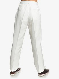 Quiksilver Womens - High Waisted Tapered Trousers for Women  EQWNP03013